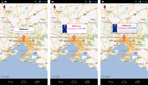 Show And Hide Info Window Automatically In Android With Gmaps